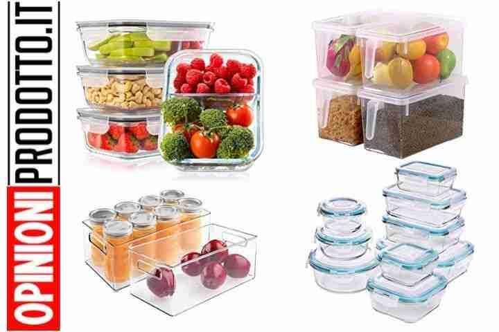 contenitori per organizzare frigo
