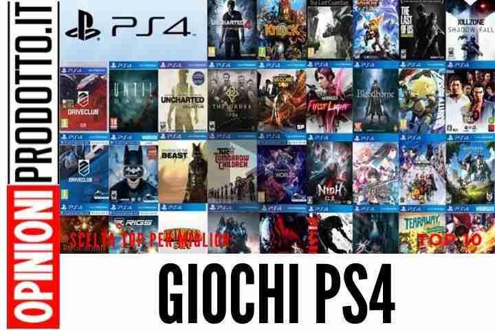 I Migliori Giochi PS4 - Giochi PlayStation 4 ai quali assolutamente giocare