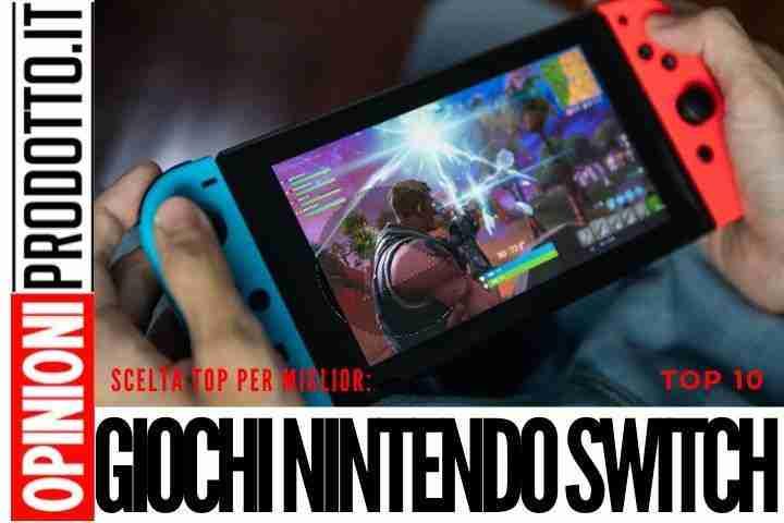 I migliori giochi Nintendo Switch in arrivo