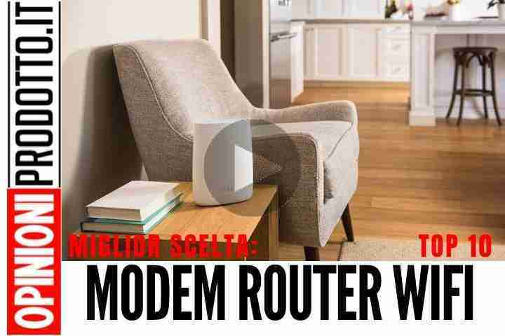 Il Miglior Modem Router WiFi: reti mesh di ultima generazione