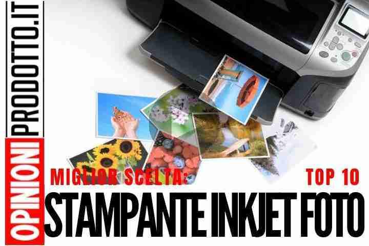 Le Migliori Stampanti InkJet fotografiche: immagini top a basso costo