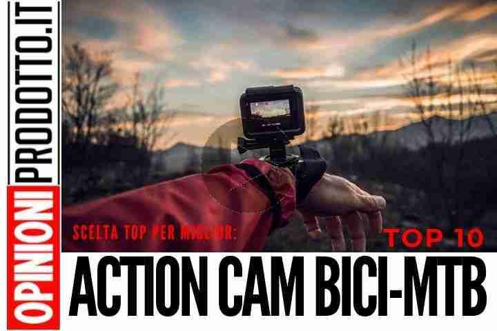 Le migliori Action Cam per bici o MTB testate su percorsi difficili