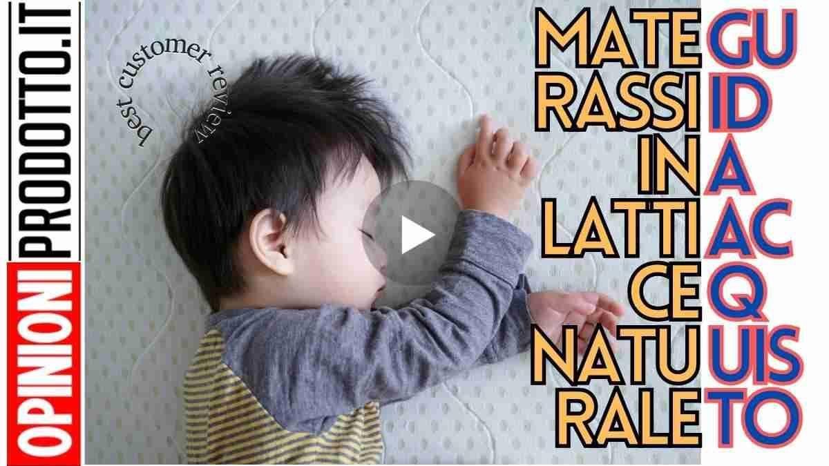 Materassi In Lattice Naturale Dormi Rilassato E Risvegliati Riposato