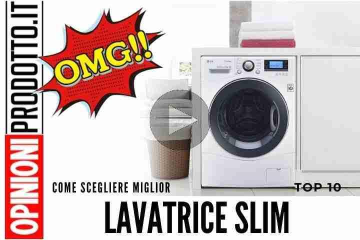 Questa lavatrice slim è la migliore se hai poco spazio