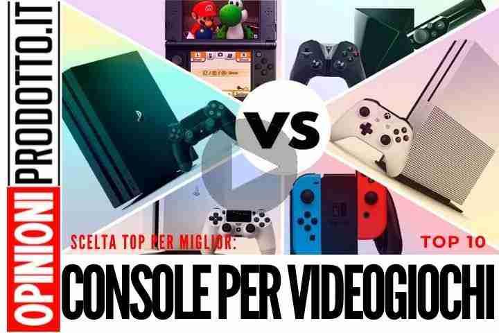 Migliori Console per Videogiochi - PlayStation Xbox o Nintendo