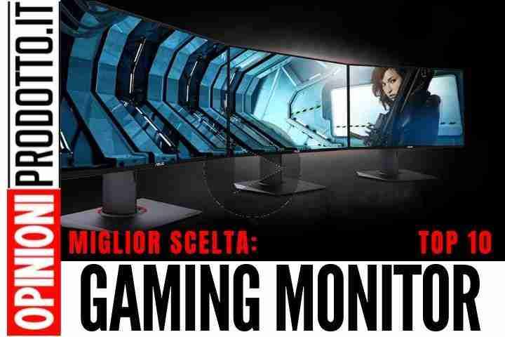 Migliori Gaming Monitor: le migliori scelte per i giochi a 1080p e 4K