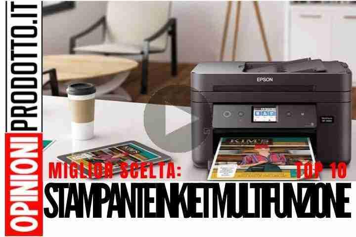 Migliori Stampanti InkJet Multifunzione: stampe, fax, scansioni sempre al top