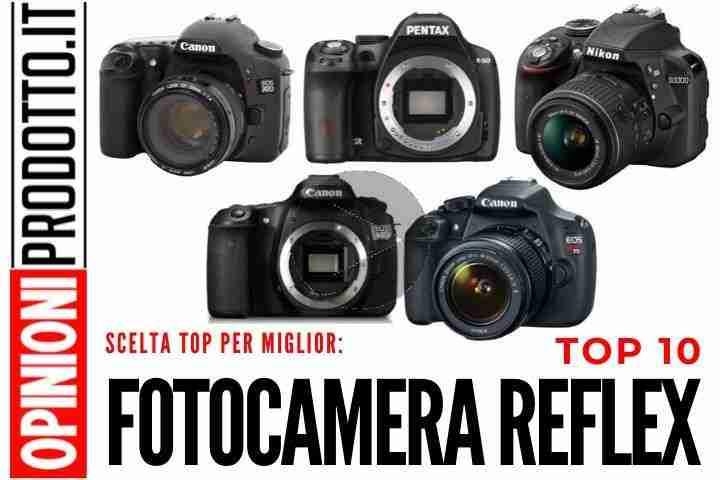 Top 10 migliori Fotocamere Reflex per Principianti e Professionisti