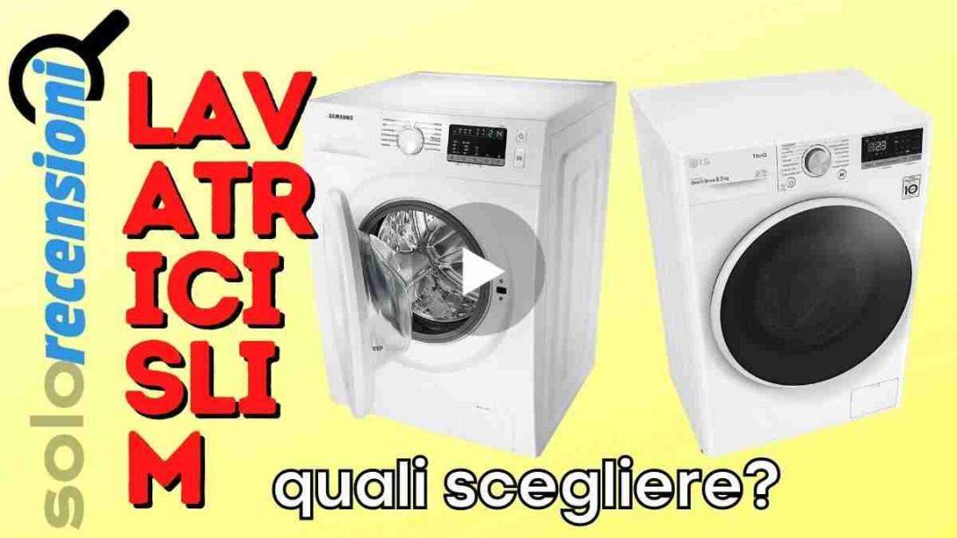 migliori lavatrici slim quale scegliere