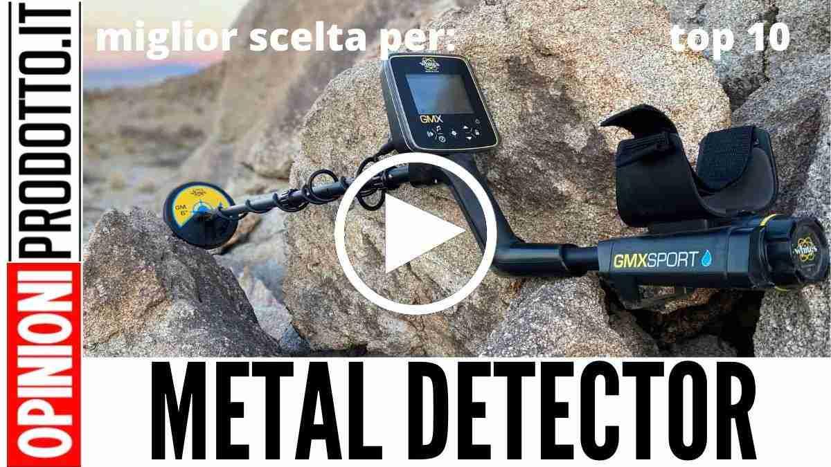 Metal Detector: Questo è il miglior metal detector da acquistare