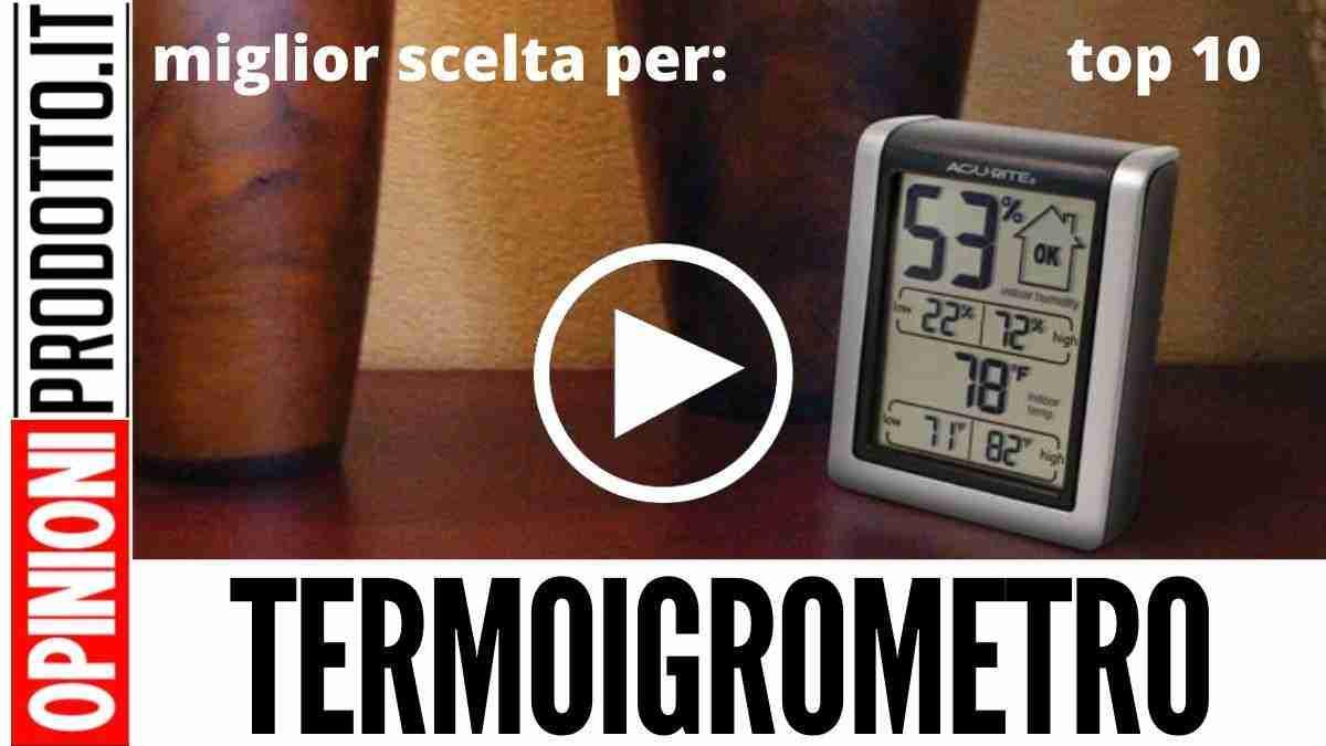 Miglior Termoigrometro: questo igrometro digitale è il top