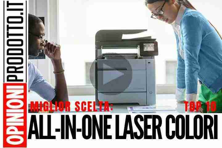 Migliore All-in-One Stampante Laser Colori: top stampe colori e bianco nero