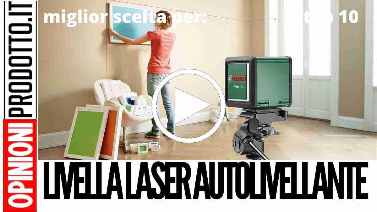 Migliore Livella Laser Autolivellante: piani perfettametnte orizzontali