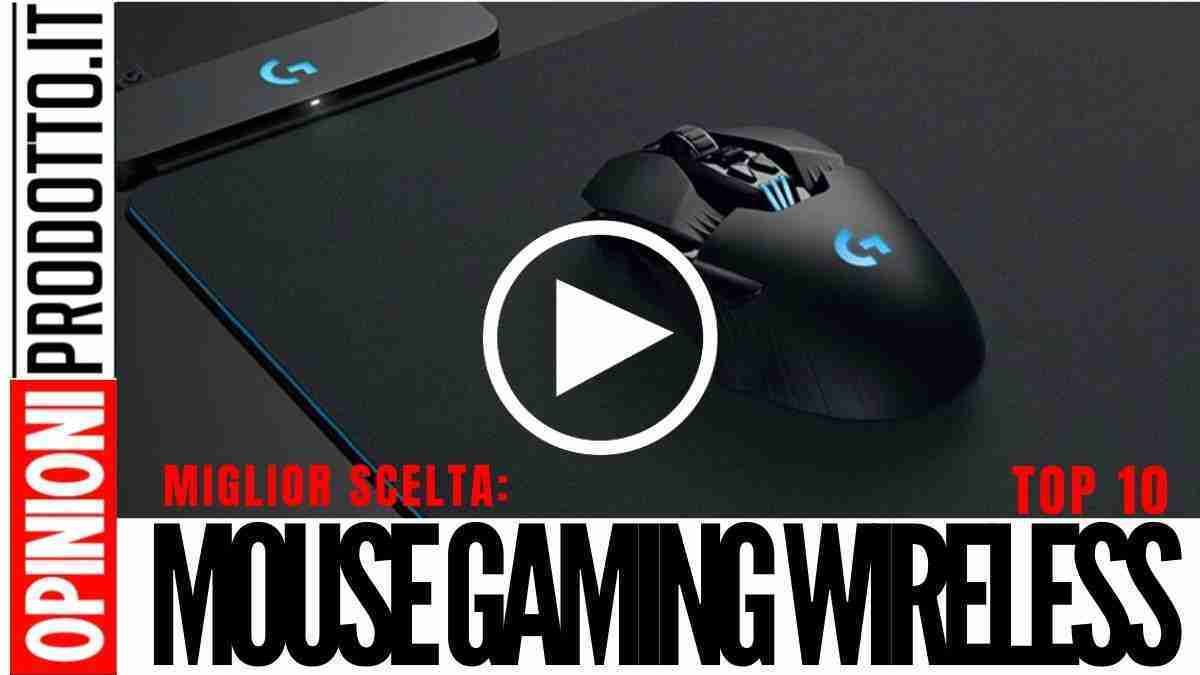 Migliori Mouse Gaming Wireless: addio cavi con questi mouse da gioco