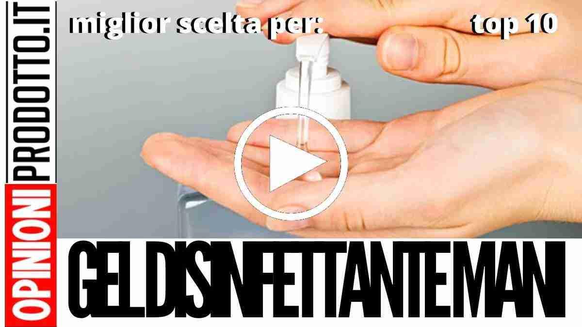 Gel Disinfettante Mani Antibatterico: migliore prevenzione da coronavirus
