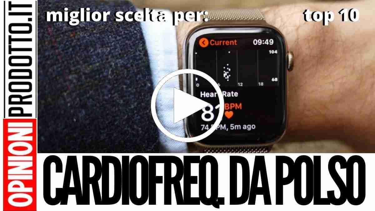Miglior Cardiofrequenzimetro da polso: pulsazioni sempre sotto controllo