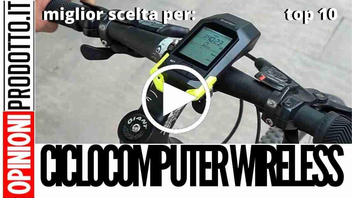 Miglior Ciclocomputer Wireless: guida acquisto online