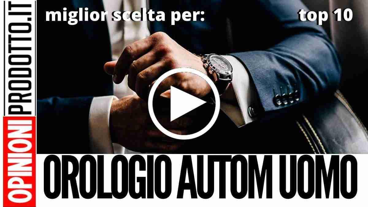 Miglior Orologio Automatico da Uomo: stile e design al tuo polso