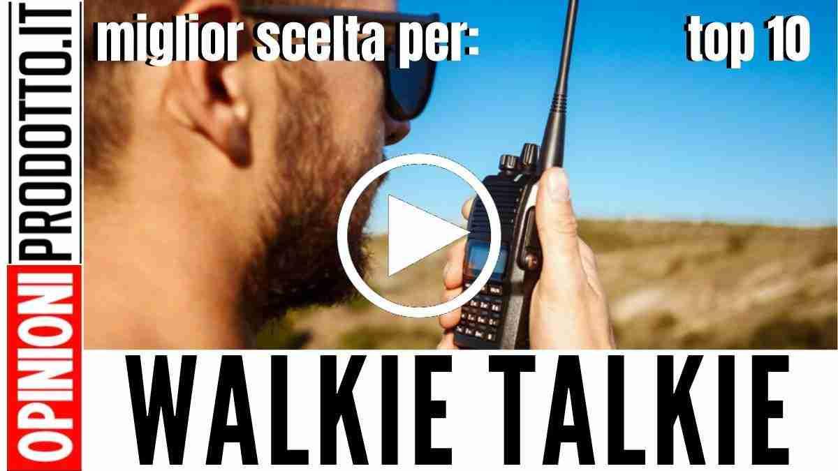 Miglior Walkie Talkie: capo pattuglia chiama corvo