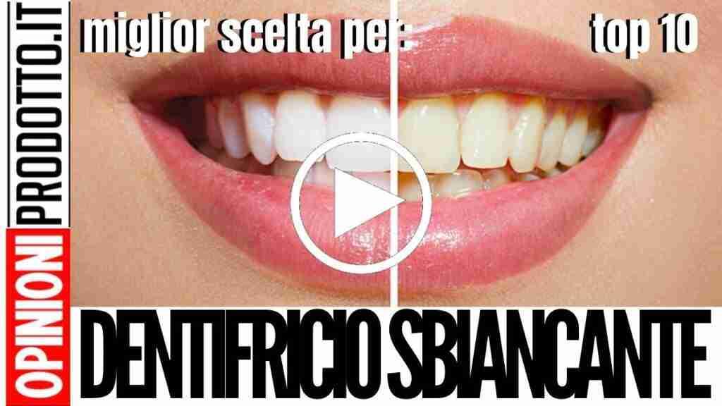 Dentifricio Sbiancante: il migliore per denti sani e splendenti