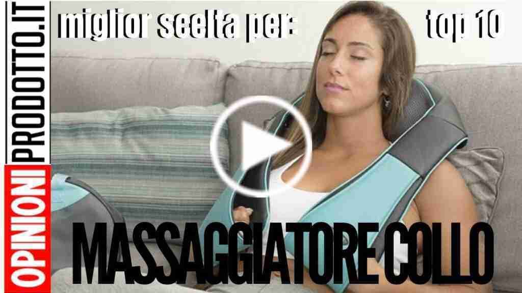 Massaggiatore per il collo - come alleviare il dolore cervicale