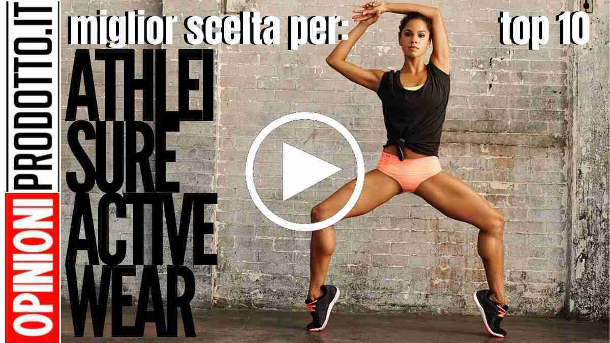 Migliori Athleisure Active Wear da fitness a fashion style