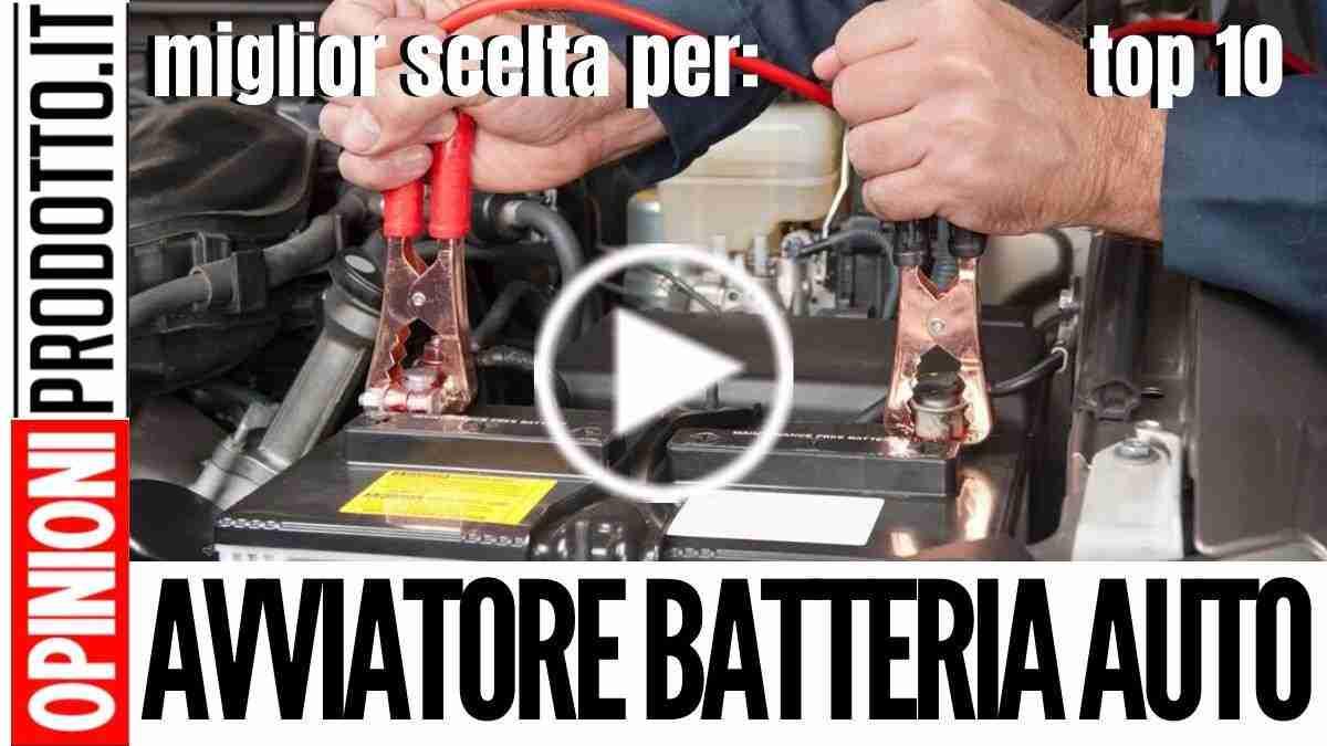 Avviatore Batteria Auto di emergenza: guida Acqusto ai migliori