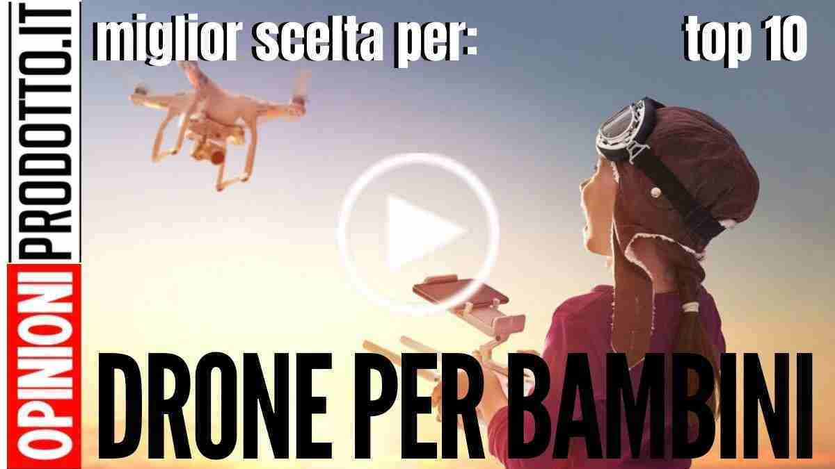 Il miglior Drone per bambini e ragazzi: futuri piloti di droni