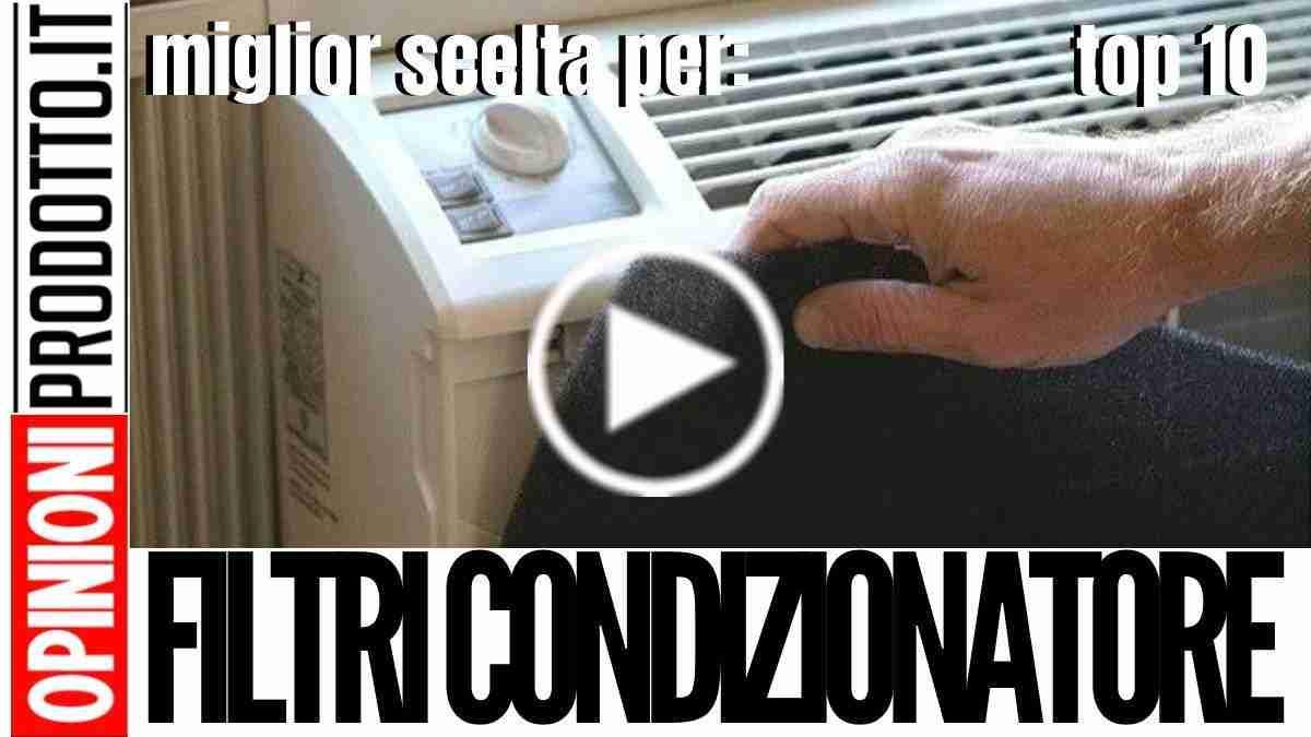 Sanificare o Sostituire i Filtri Condizionatore