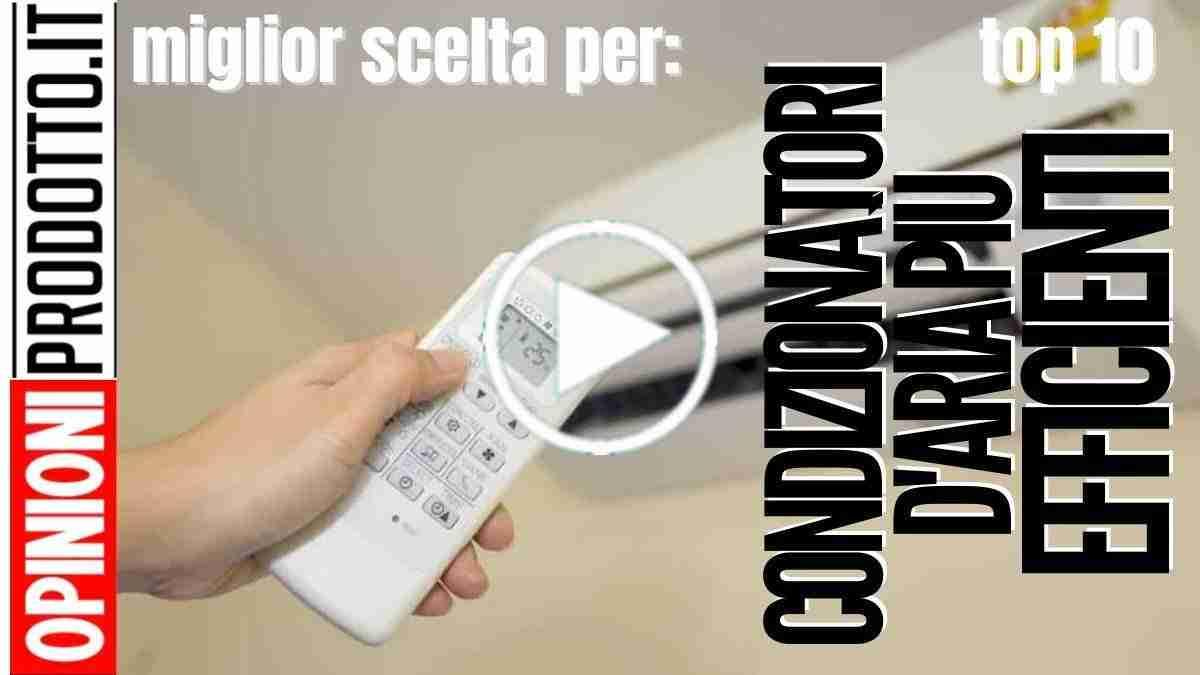 I Condizionatori d'aria più efficienti dal punto di vista Energetico