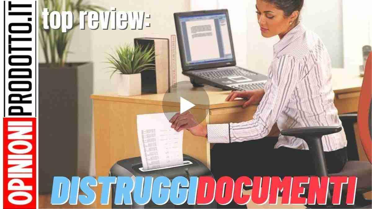 miglior distruggi documenti