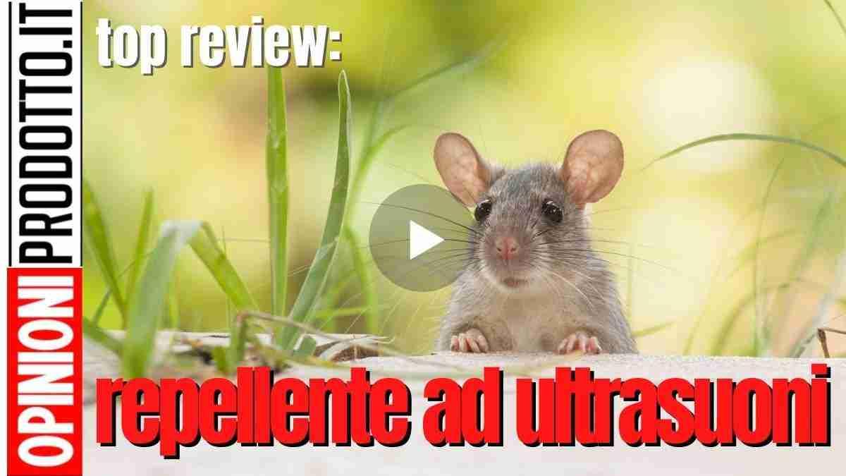miglior repellente ad ultrasuoni per topi e insetti