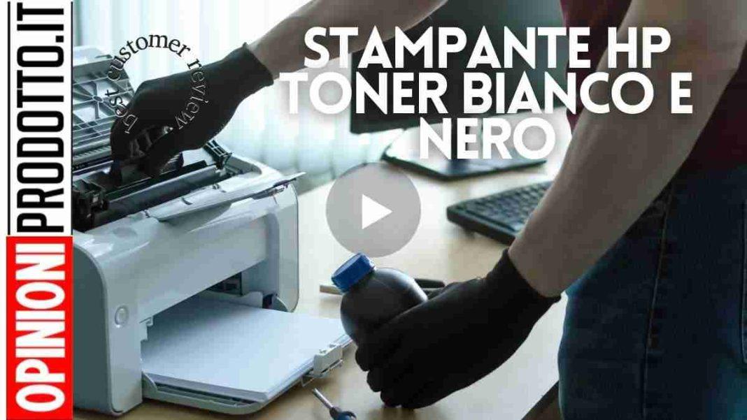 Stampante Toner Bianco E Nero