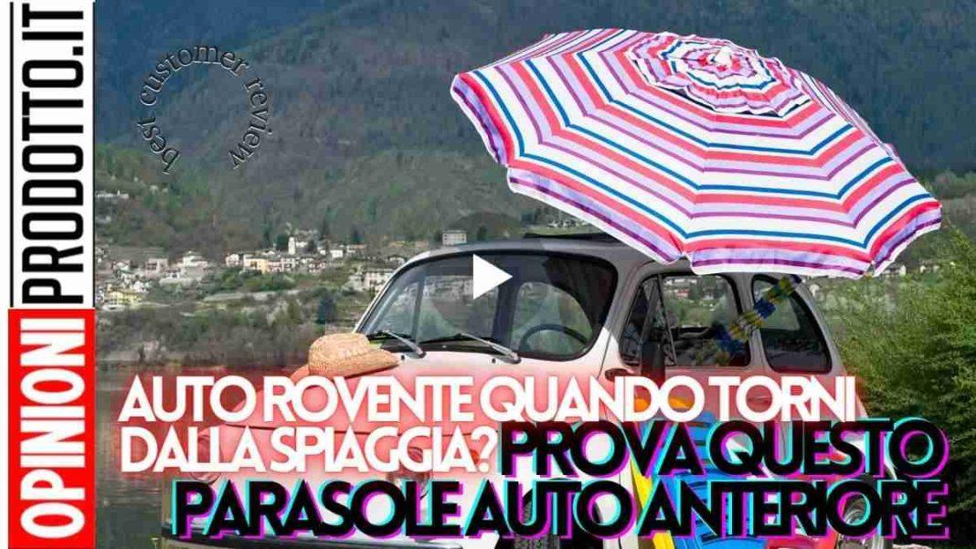 miglior parasole auto anteriore