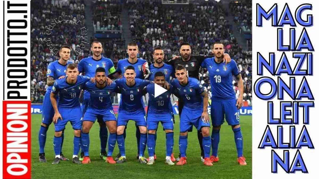 maglia italia nazionale di calcio