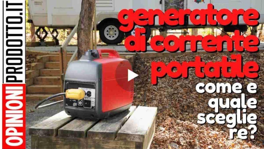 miglior generatore di corrente portatile come scegliere