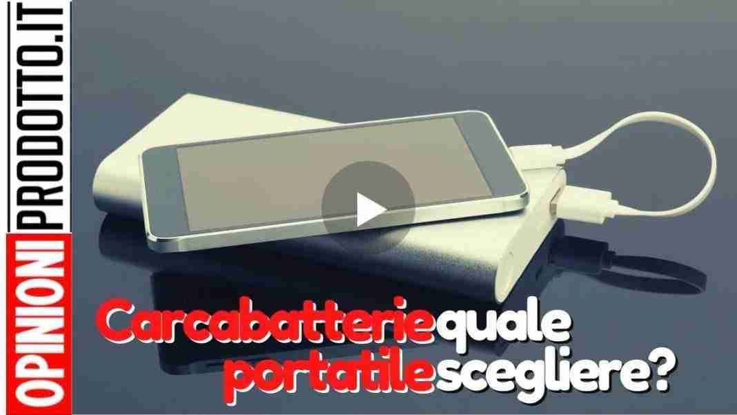 caricabatterie portatile per cellulare   blackout addio